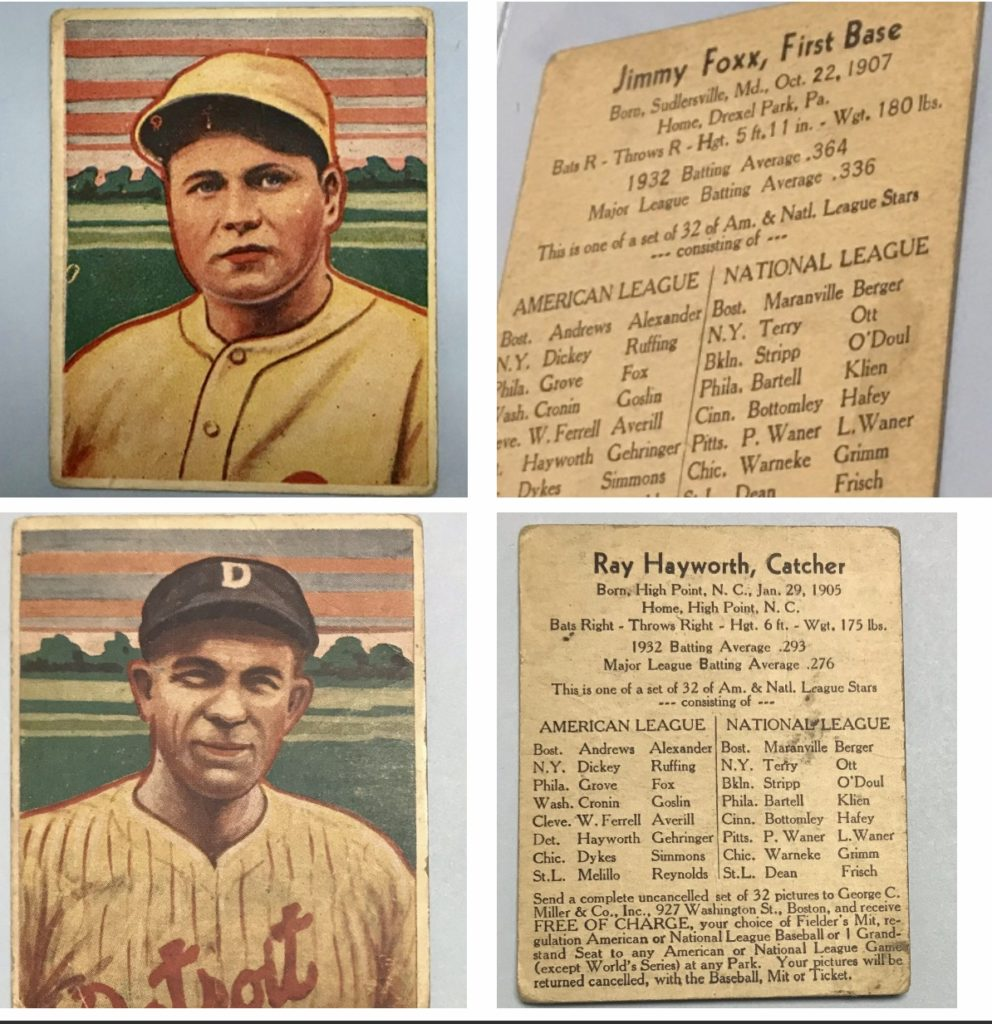 Vintage Baseball Cards Kcs Gold Collectibles
